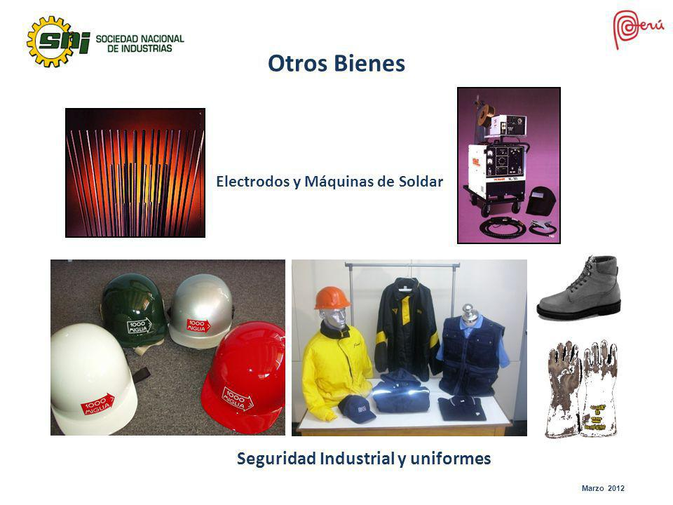 Otros Bienes Seguridad Industrial y uniformes
