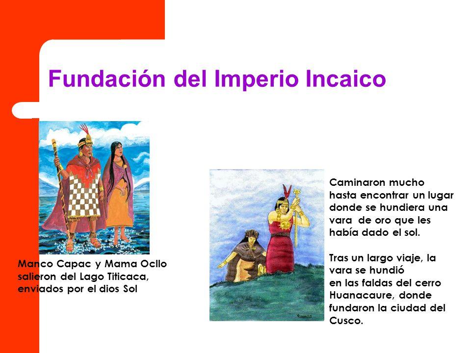 Fundación del Imperio Incaico