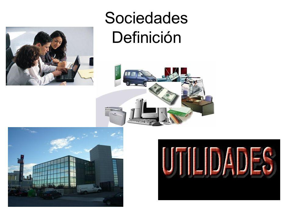 Sociedades Definición