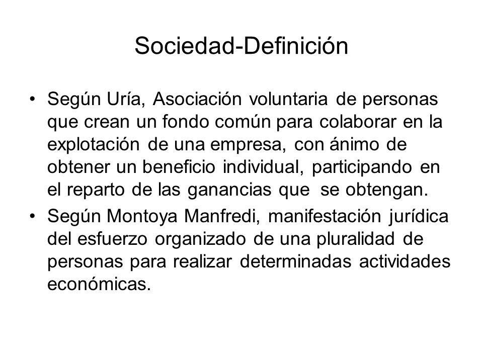 Sociedad-Definición