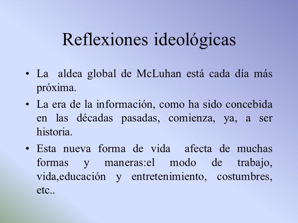 Reflexiones ideológicas