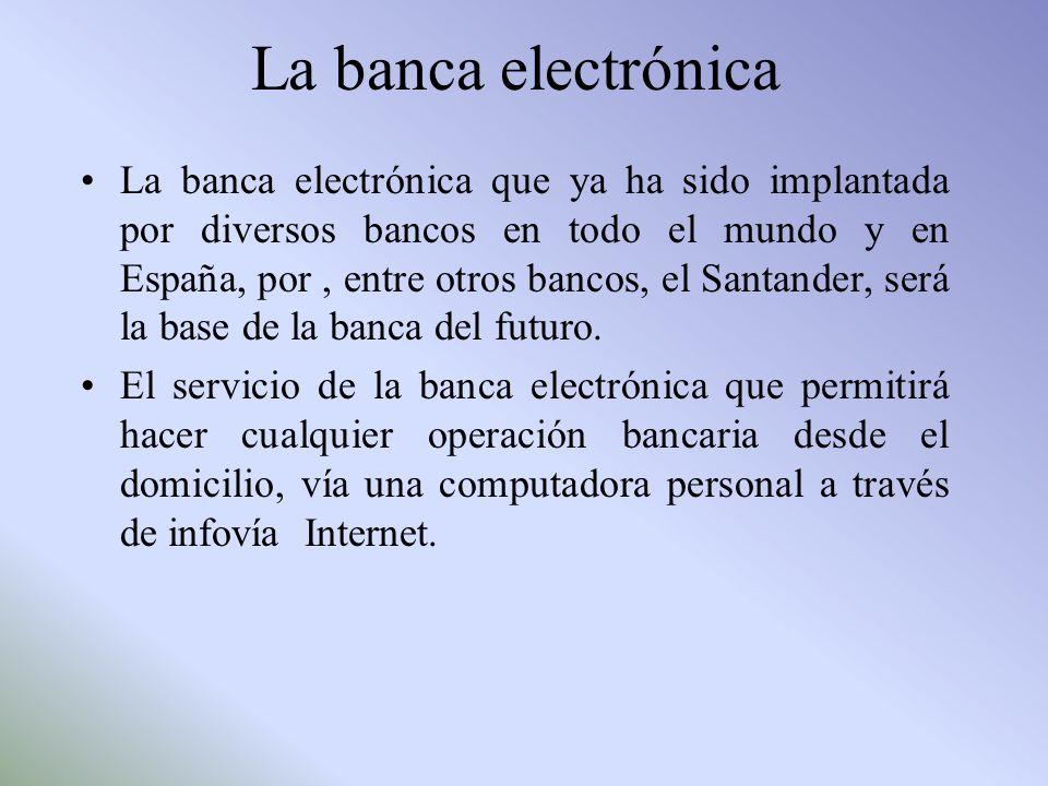 La banca electrónica