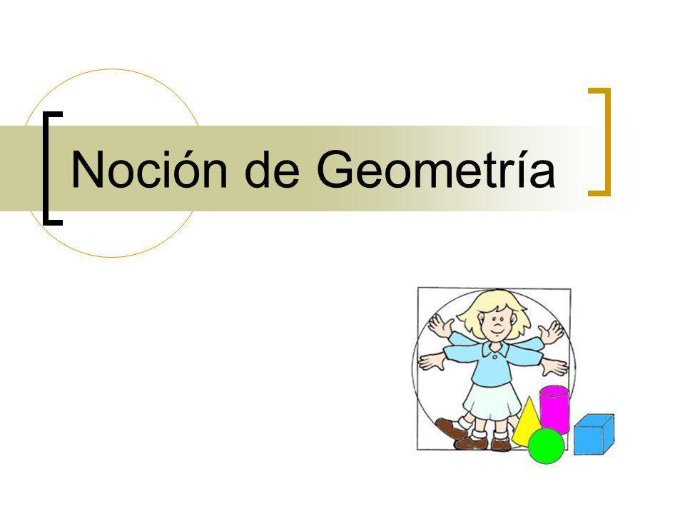 Noción de Geometría