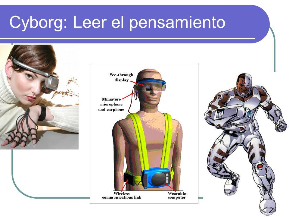 Cyborg: Leer el pensamiento