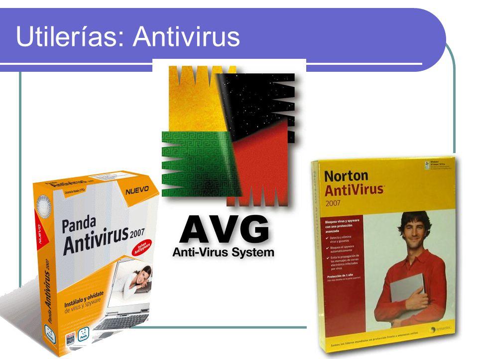 Utilerías: Antivirus
