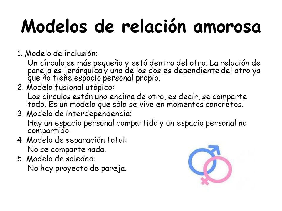 Modelos de relación amorosa
