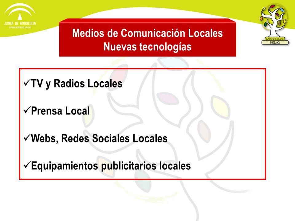 Medios de Comunicación Locales Nuevas tecnologías