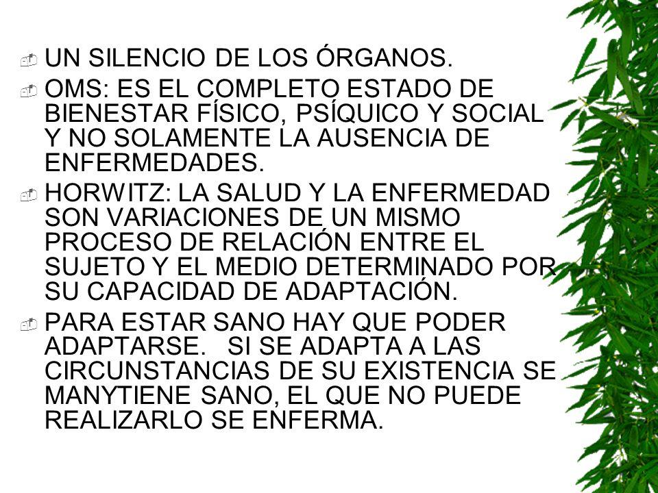 UN SILENCIO DE LOS ÓRGANOS.