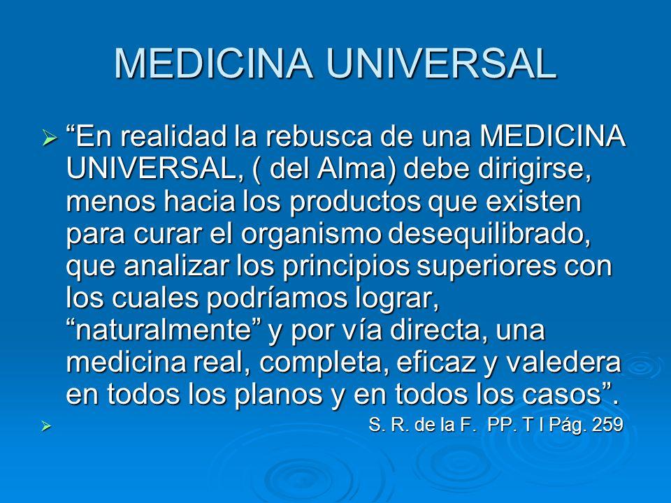 MEDICINA UNIVERSAL