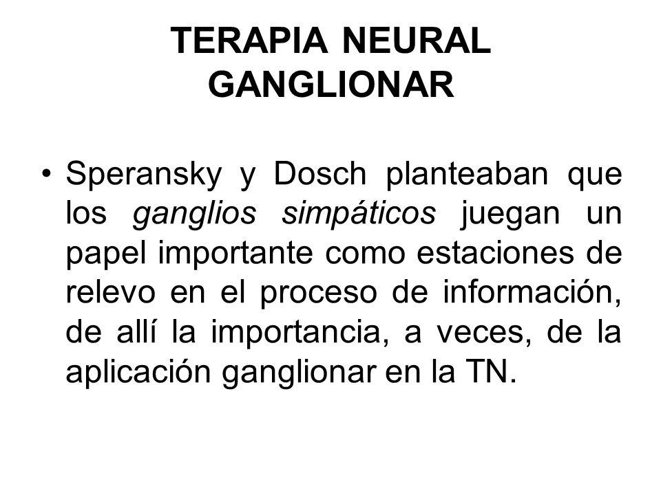 TERAPIA NEURAL GANGLIONAR
