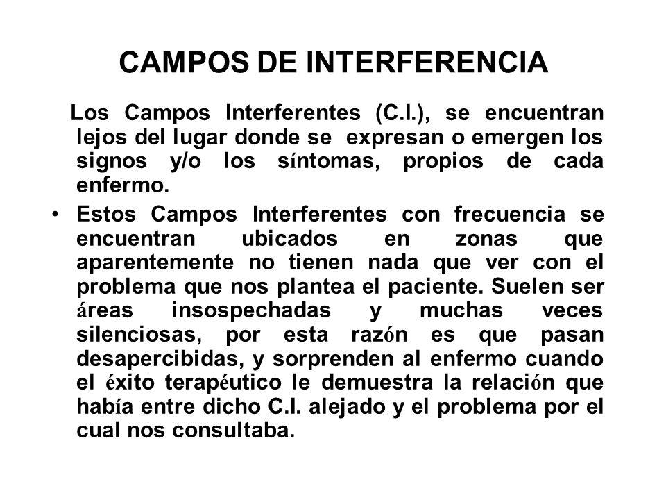CAMPOS DE INTERFERENCIA