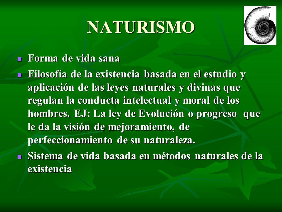 NATURISMO Forma de vida sana