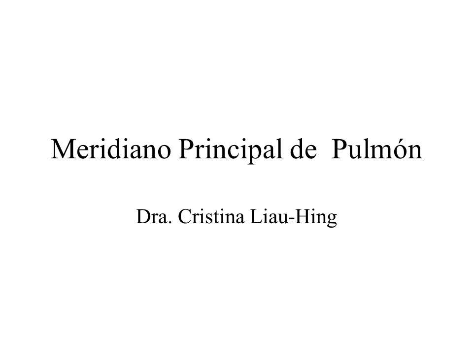 Meridiano Principal de Pulmón
