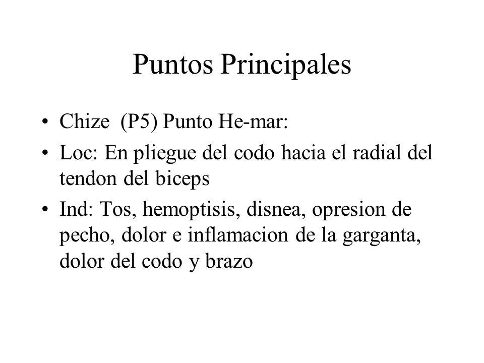 Puntos Principales Chize (P5) Punto He-mar: