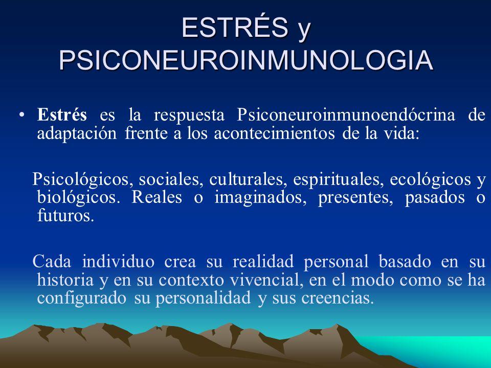 ESTRÉS y PSICONEUROINMUNOLOGIA