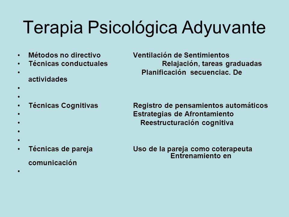 Terapia Psicológica Adyuvante