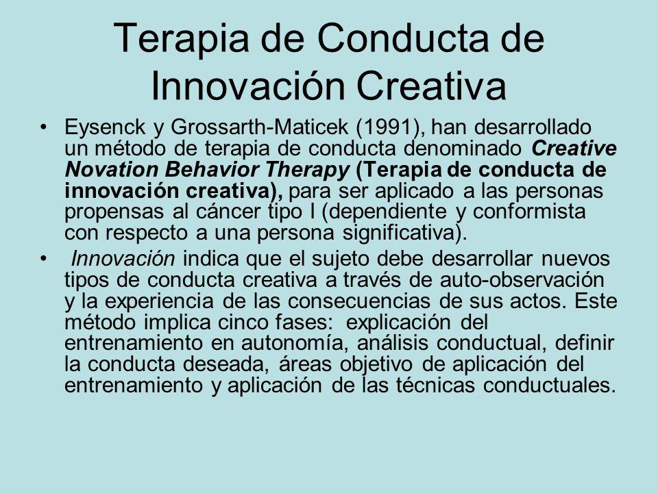 Terapia de Conducta de Innovación Creativa