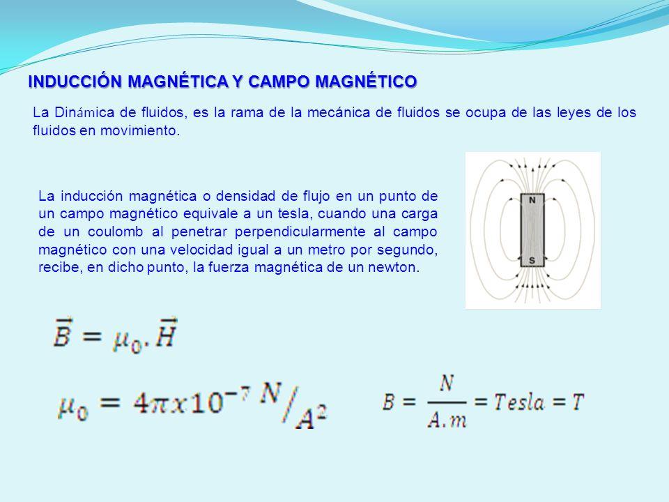 INDUCCIÓN MAGNÉTICA Y CAMPO MAGNÉTICO