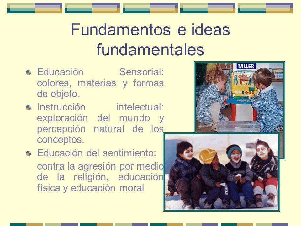 Fundamentos e ideas fundamentales