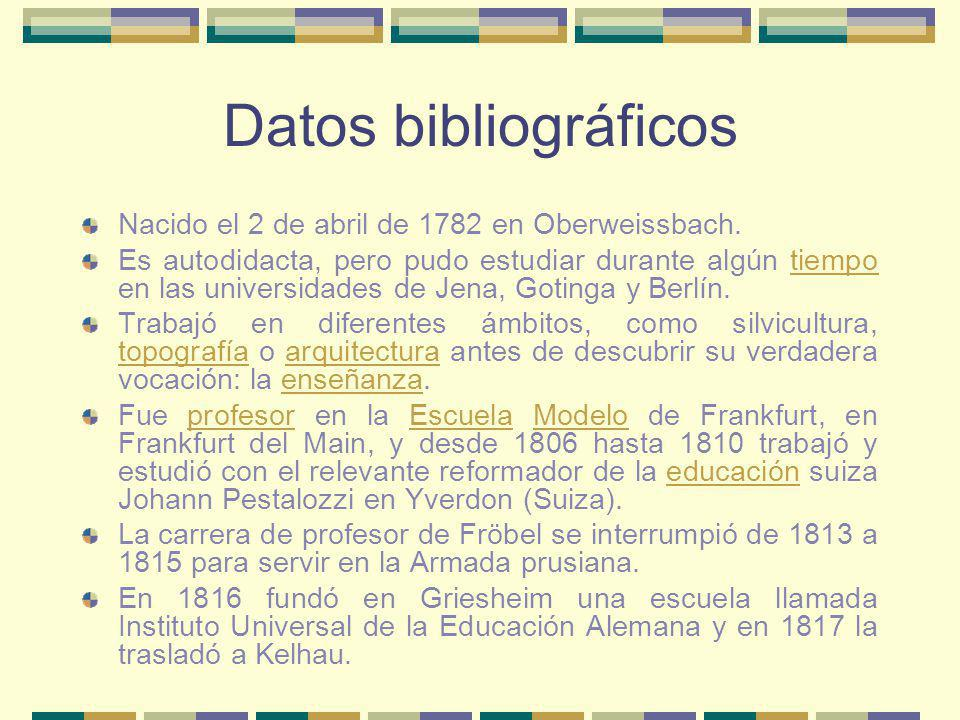 Datos bibliográficos Nacido el 2 de abril de 1782 en Oberweissbach.