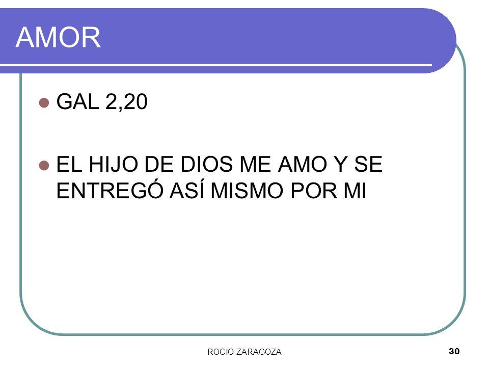 AMOR GAL 2,20 EL HIJO DE DIOS ME AMO Y SE ENTREGÓ ASÍ MISMO POR MI