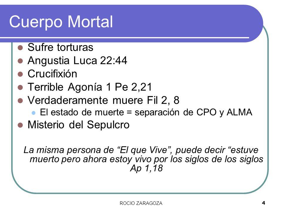 Cuerpo Mortal Sufre torturas Angustia Luca 22:44 Crucifixión