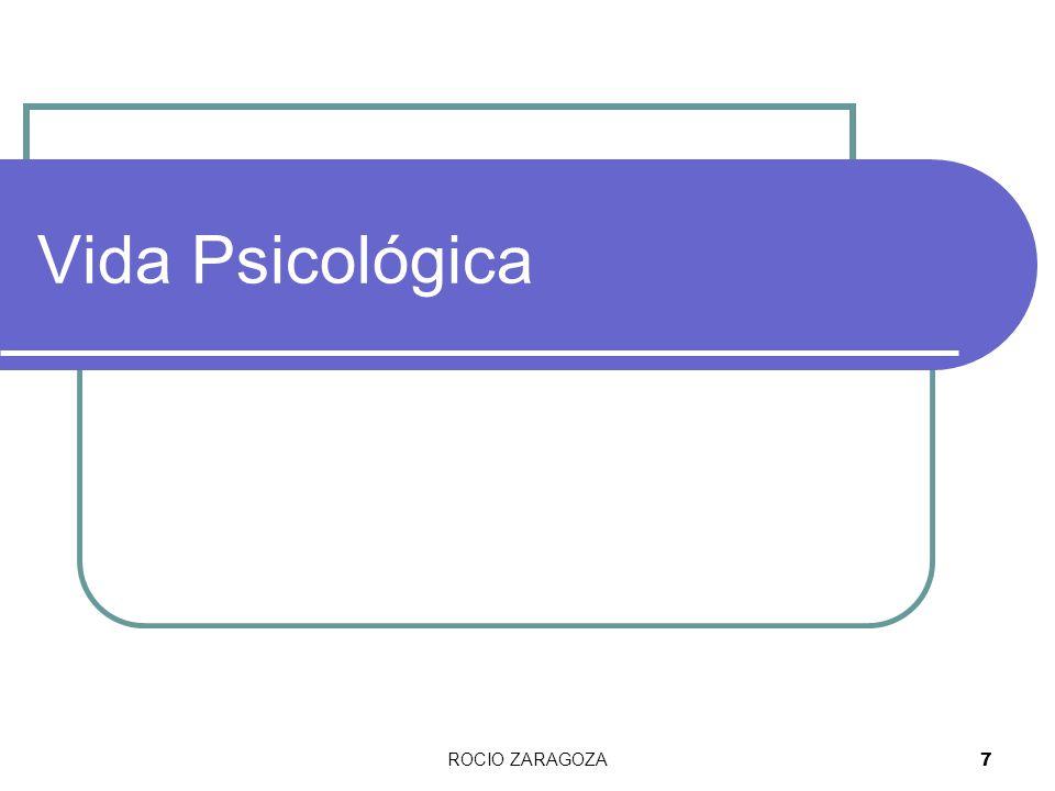 Vida Psicológica ROCIO ZARAGOZA