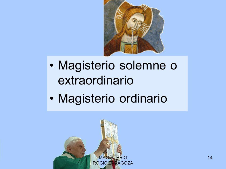 MAGISTERIO ROCIO ZARAGOZA
