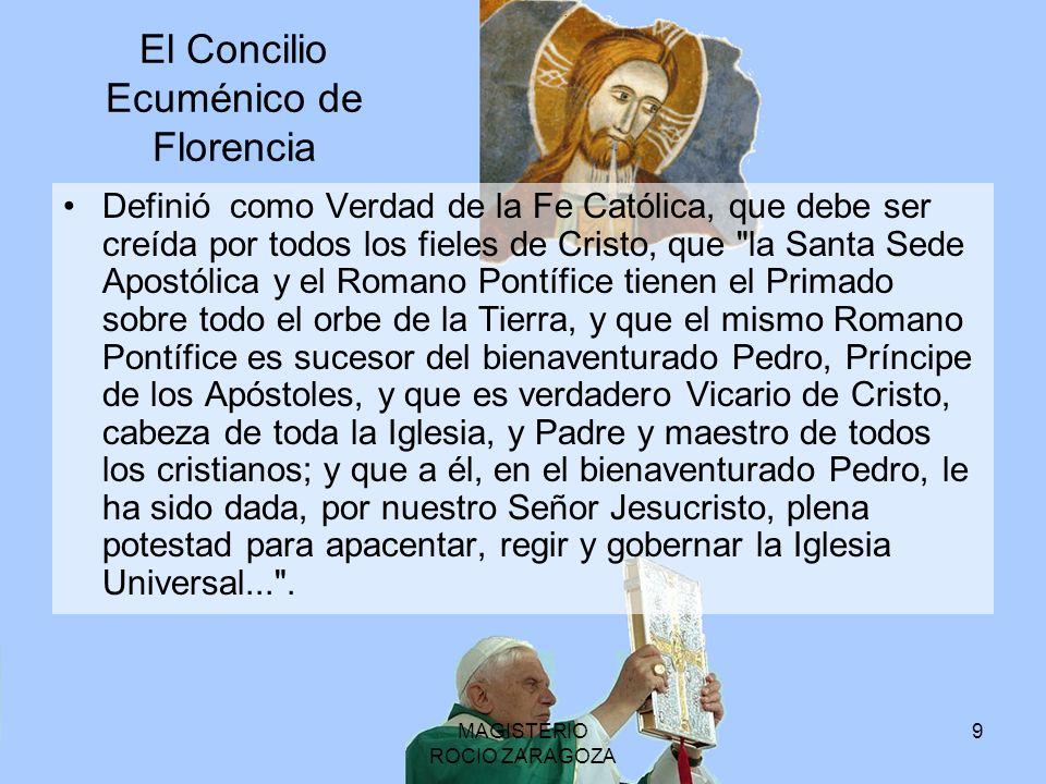 El Concilio Ecuménico de Florencia