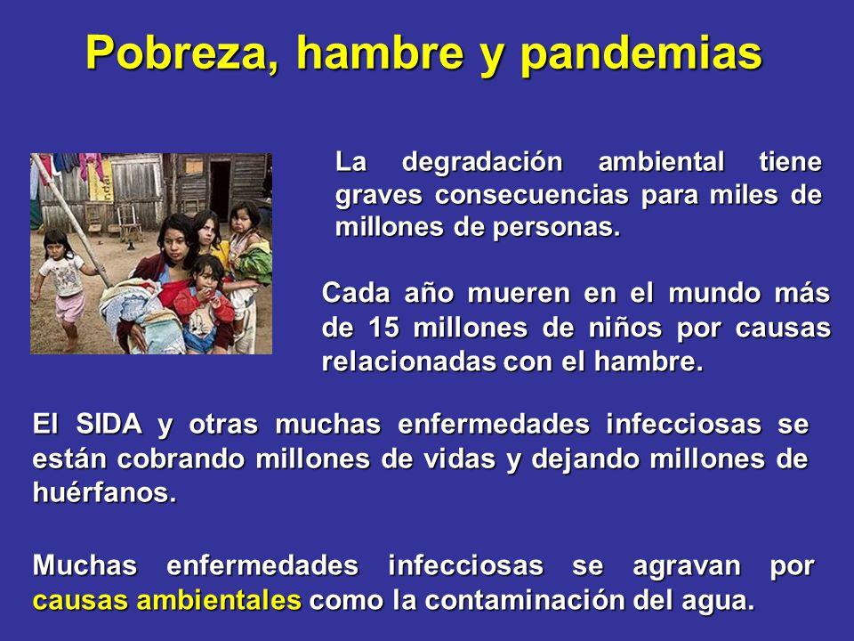 Pobreza, hambre y pandemias