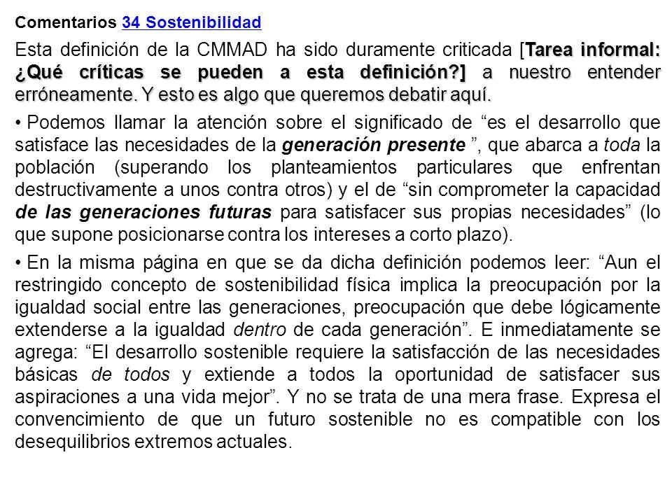 Comentarios 34 Sostenibilidad
