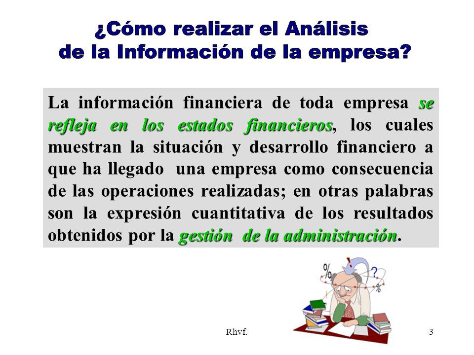 ¿Cómo realizar el Análisis de la Información de la empresa