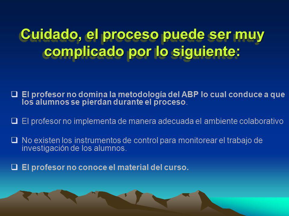 Cuidado, el proceso puede ser muy complicado por lo siguiente: