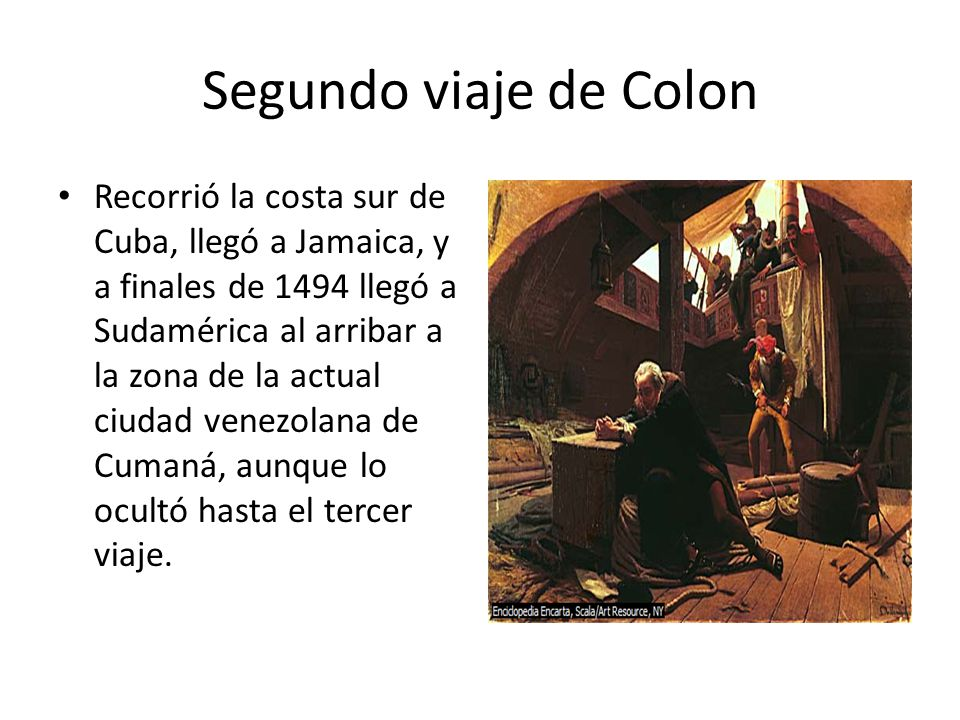 Segundo viaje de Colon