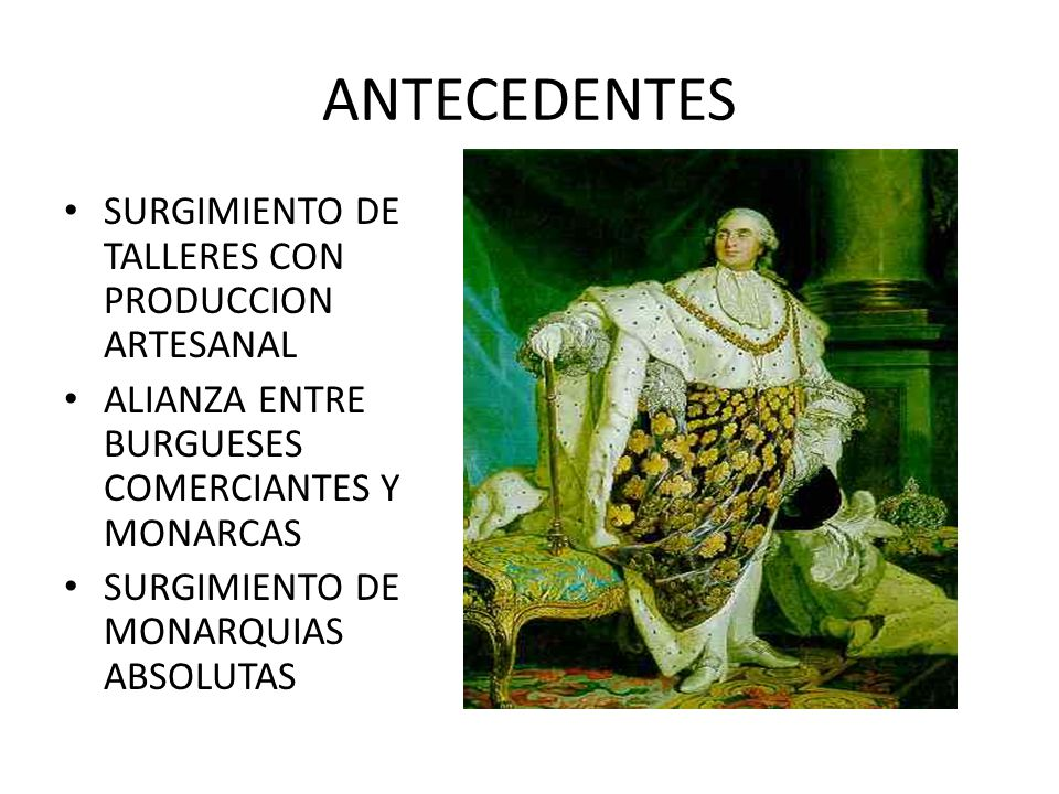 ANTECEDENTES SURGIMIENTO DE TALLERES CON PRODUCCION ARTESANAL
