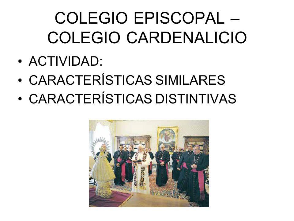COLEGIO EPISCOPAL – COLEGIO CARDENALICIO