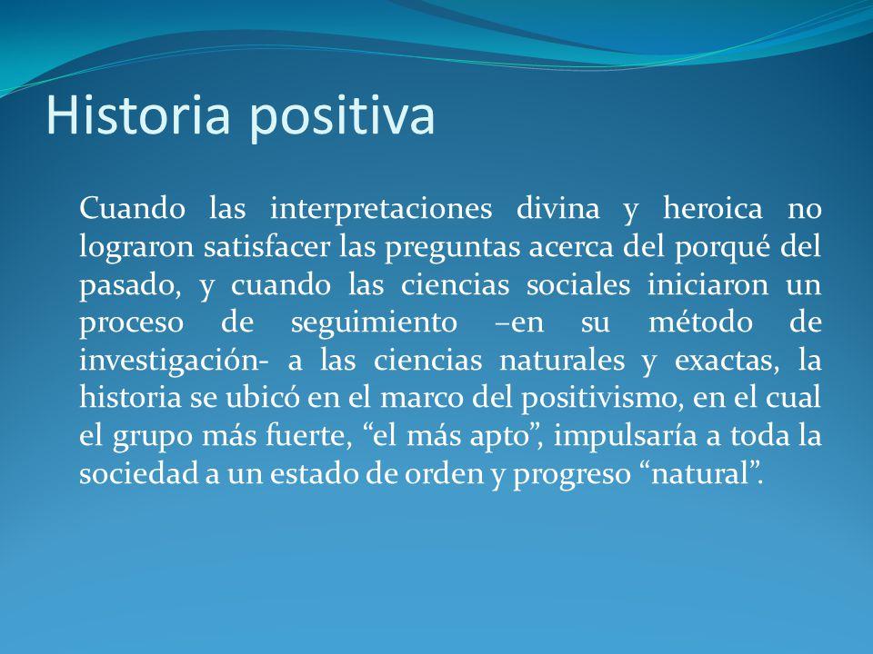 Historia positiva
