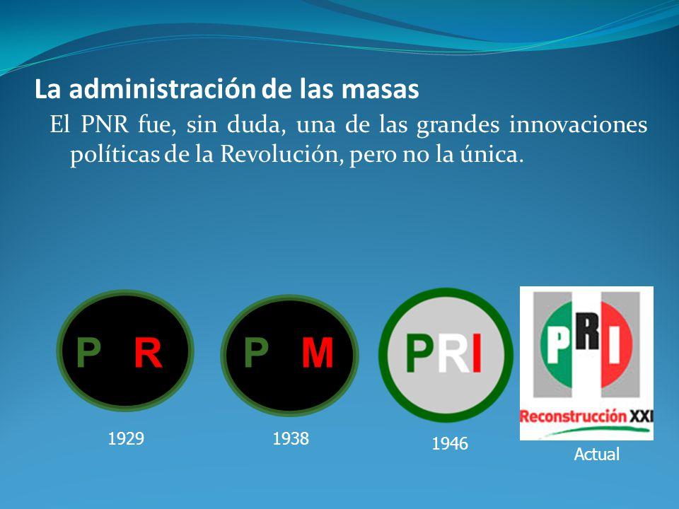 La administración de las masas
