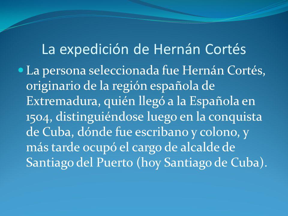 La expedición de Hernán Cortés