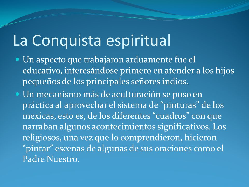 La Conquista espiritual