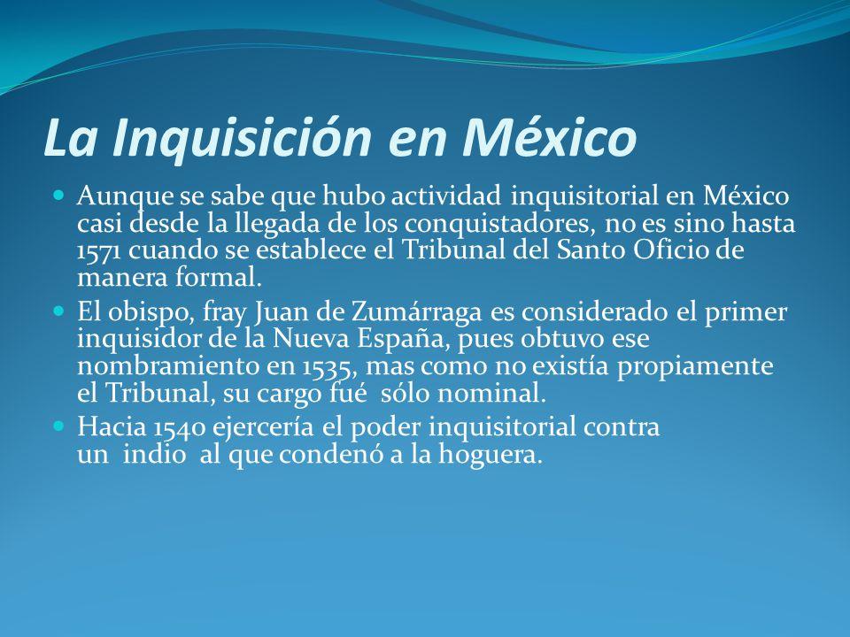 La Inquisición en México
