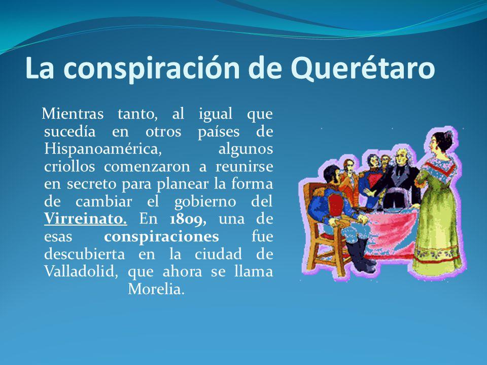La conspiración de Querétaro