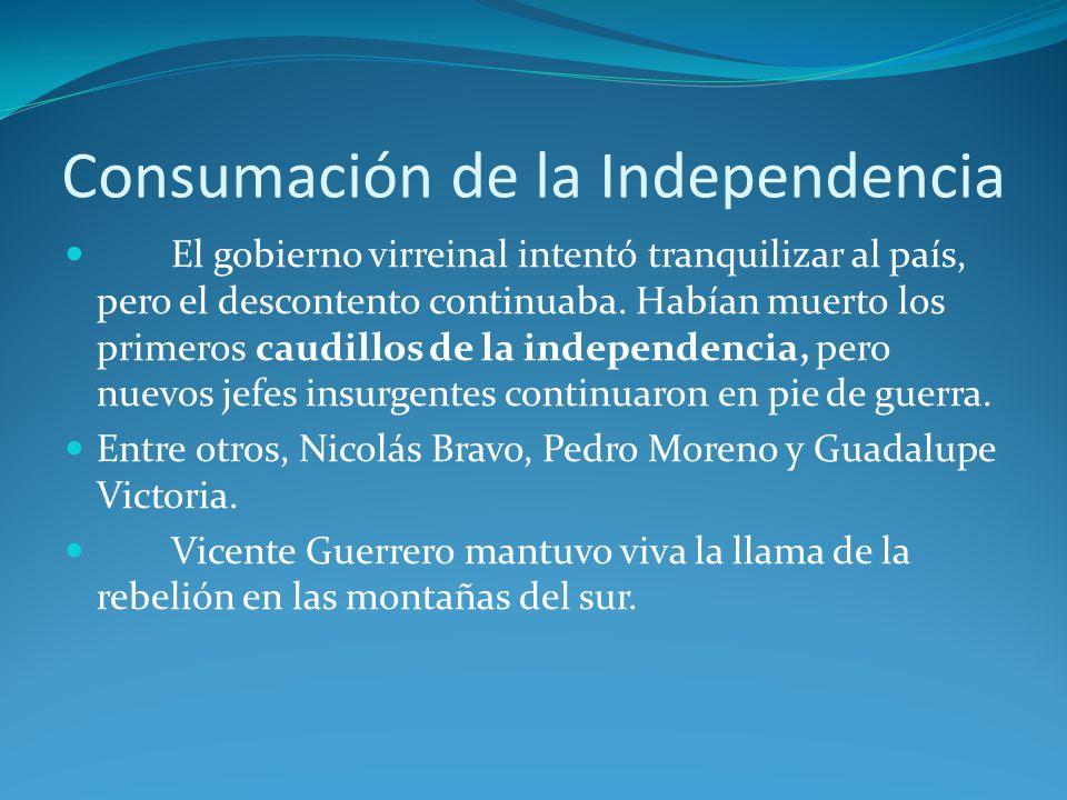 Consumación de la Independencia
