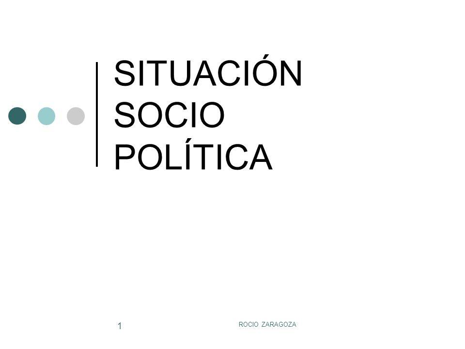 SITUACIÓN SOCIO POLÍTICA