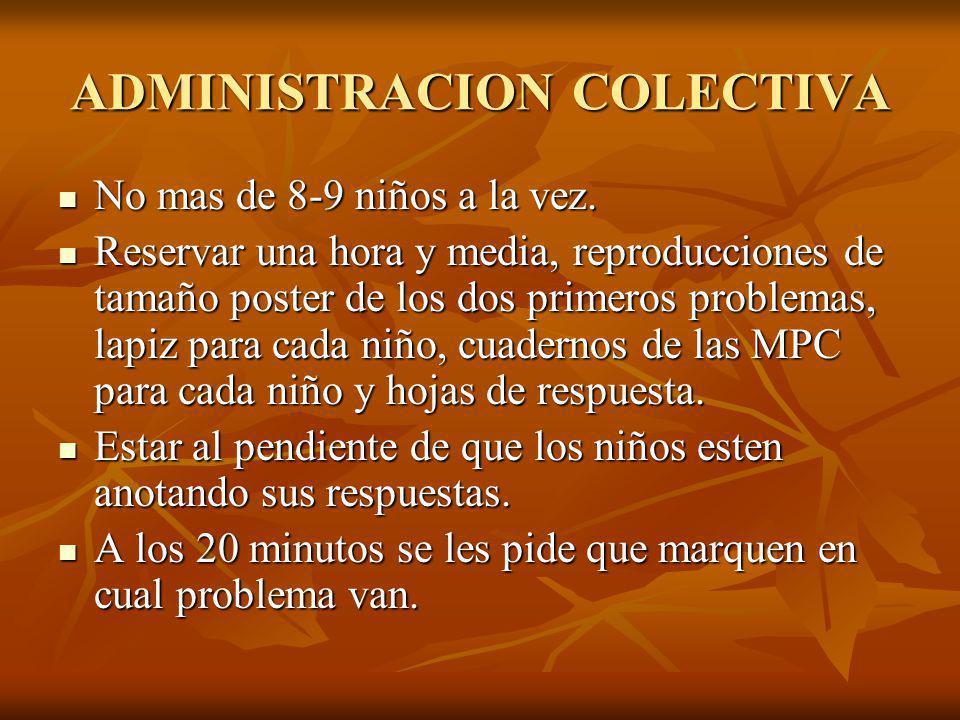ADMINISTRACION COLECTIVA