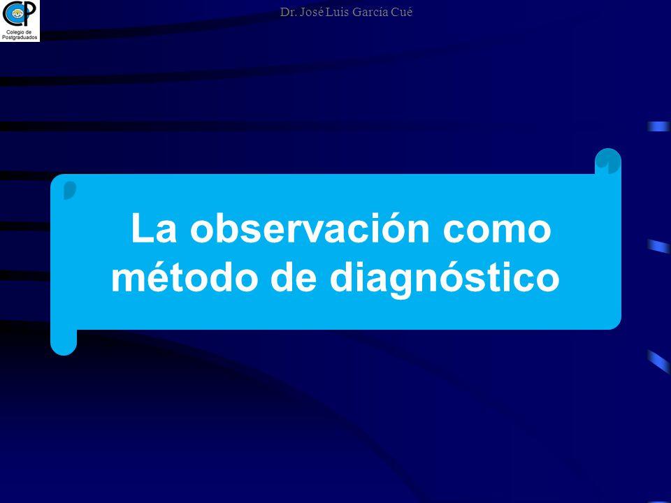 La observación como método de diagnóstico