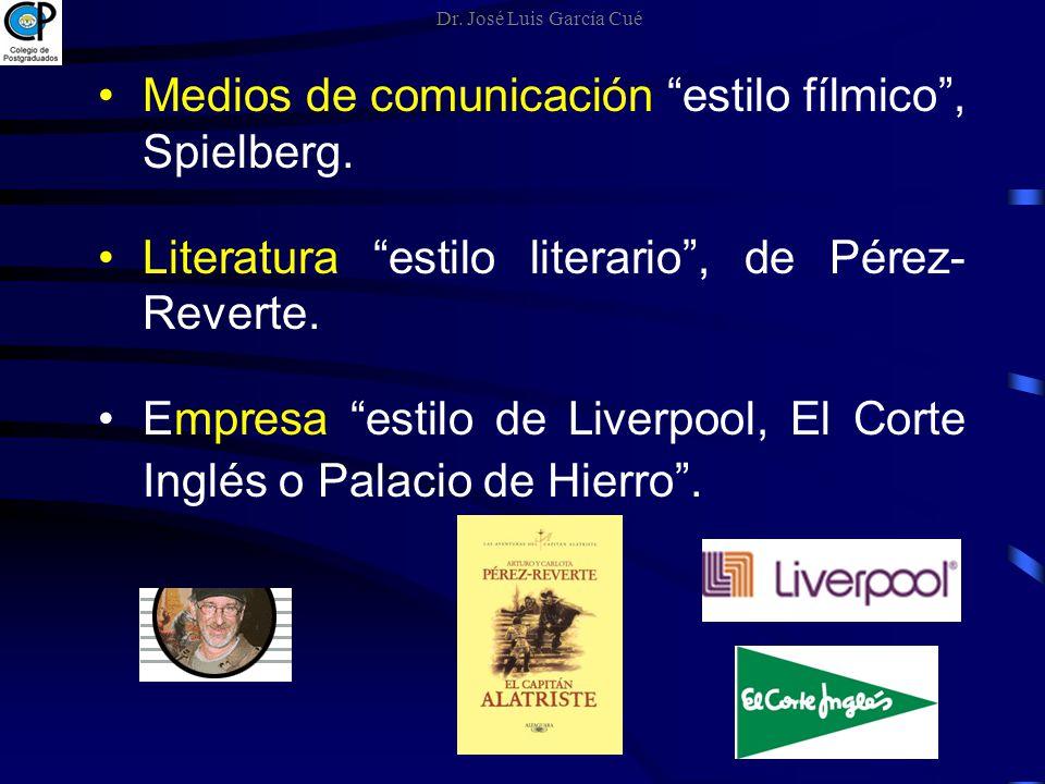 Medios de comunicación estilo fílmico , Spielberg.