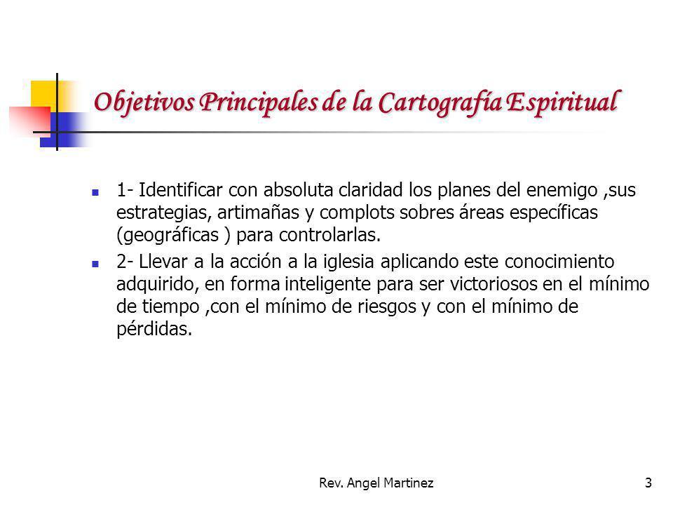 Objetivos Principales de la Cartografía Espiritual