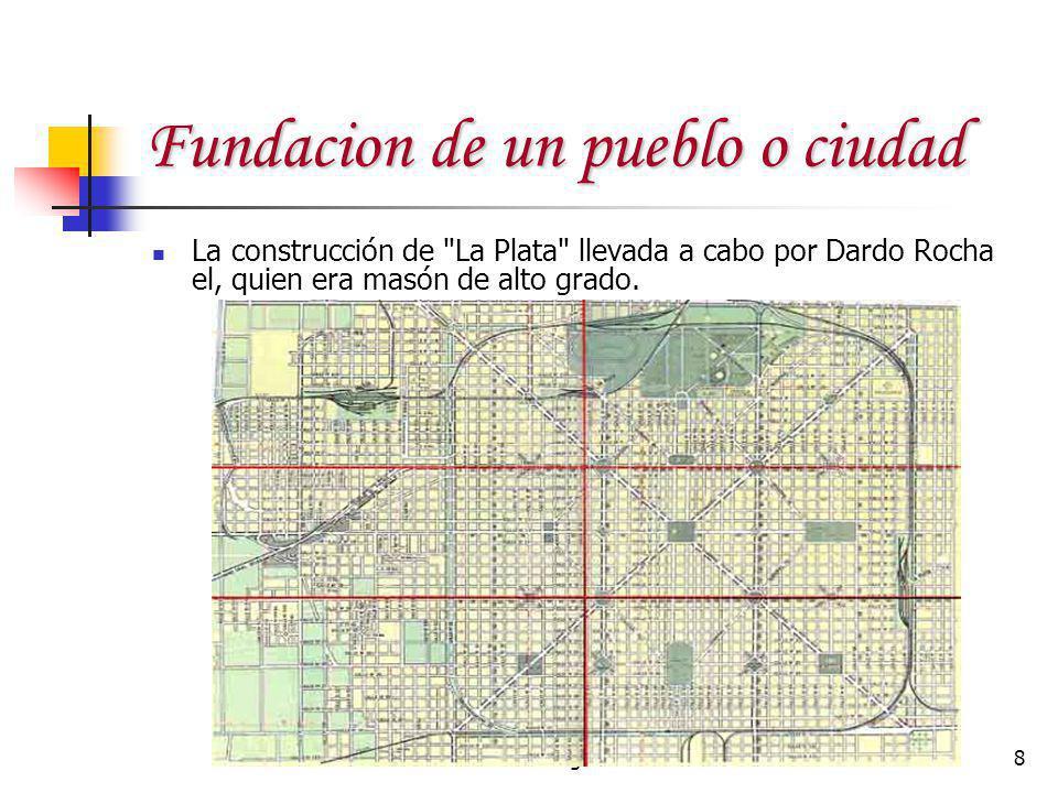 Fundacion de un pueblo o ciudad