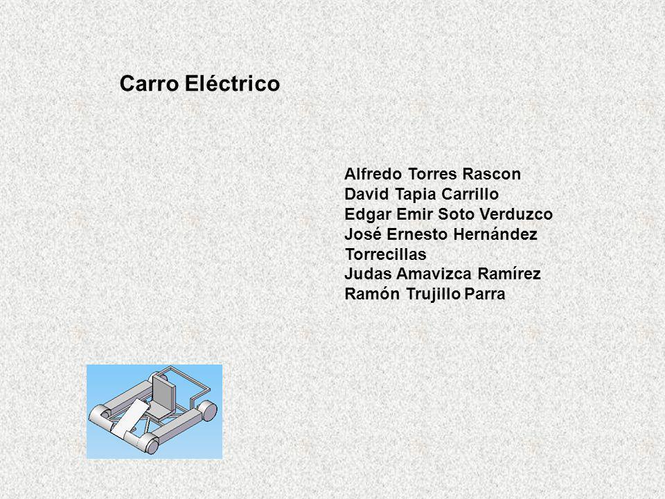 Carro Eléctrico Alfredo Torres Rascon David Tapia Carrillo